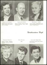 1955 Northwestern High School Yearbook Page 10 & 11