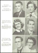 1955 Northwestern High School Yearbook Page 16 & 17