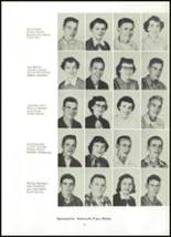 1955 Northwestern High School Yearbook Page 22 & 23