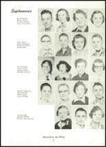 1955 Northwestern High School Yearbook Page 24 & 25