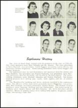 1955 Northwestern High School Yearbook Page 26 & 27