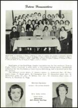 1955 Northwestern High School Yearbook Page 34 & 35
