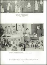 1955 Northwestern High School Yearbook Page 36 & 37