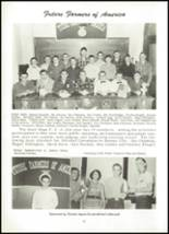 1955 Northwestern High School Yearbook Page 38 & 39