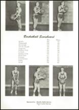 1955 Northwestern High School Yearbook Page 58 & 59