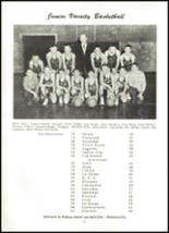 1955 Northwestern High School Yearbook Page 60 & 61