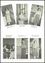 1955 Northwestern High School Yearbook Page 70 & 71
