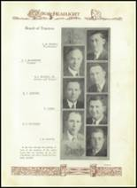 1930 Baird High School Yearbook Page 16 & 17