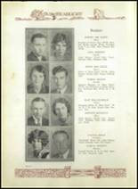 1930 Baird High School Yearbook Page 20 & 21