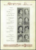 1930 Baird High School Yearbook Page 22 & 23