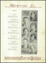 1930 Baird High School Yearbook Page 24 & 25