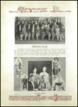 1930 Baird High School Yearbook Page 40 & 41