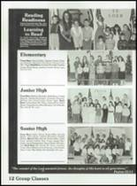 1989 Tabernacle Christian School Yearbook Page 14 & 15