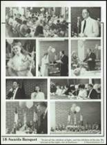 1989 Tabernacle Christian School Yearbook Page 20 & 21
