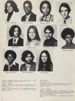 1973 Mt. Vernon High School Yearbook Page 90 & 91