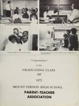 1973 Mt. Vernon High School Yearbook Page 178 & 179