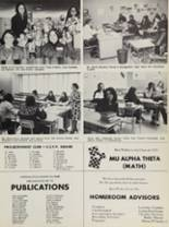 1973 Mt. Vernon High School Yearbook Page 180 & 181