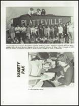 1983 Platteville High School Yearbook Page 26 & 27