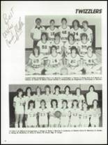 1983 Platteville High School Yearbook Page 54 & 55