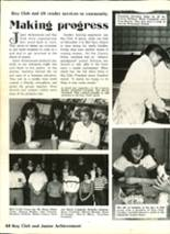 1983 Ashtabula High School Yearbook Page 52 & 53
