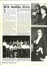 1983 Ashtabula High School Yearbook Page 54 & 55