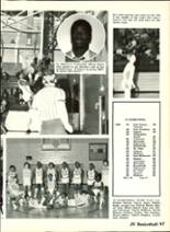 1983 Ashtabula High School Yearbook Page 100 & 101