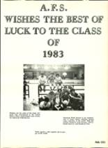 1983 Ashtabula High School Yearbook Page 154 & 155