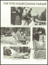 1971 Monticello High School Yearbook Page 16 & 17