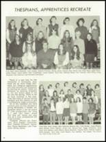 1971 Monticello High School Yearbook Page 62 & 63