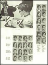1971 Monticello High School Yearbook Page 104 & 105