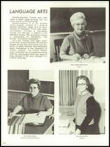 1971 Monticello High School Yearbook Page 108 & 109
