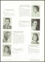 1959 Liberty High School Yearbook Page 132 & 133