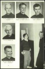 1956 Campion Jesuit High School Yearbook Page 20 & 21