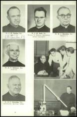 1956 Campion Jesuit High School Yearbook Page 22 & 23