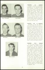 1956 Campion Jesuit High School Yearbook Page 128 & 129