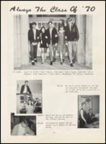 1970 Oilton High School Yearbook Page 14 & 15