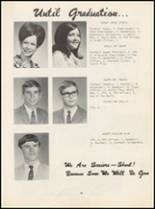 1970 Oilton High School Yearbook Page 20 & 21