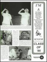 1995 Nolan High School Yearbook Page 44 & 45