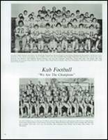 1979 Kamiah High School Yearbook Page 54 & 55