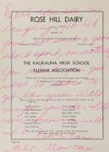 1961 Kaukauna High School Yearbook Page 112 & 113