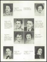 1955 Grand Ledge High School Yearbook Page 18 & 19