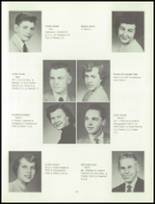 1955 Grand Ledge High School Yearbook Page 20 & 21