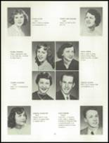 1955 Grand Ledge High School Yearbook Page 22 & 23