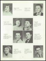 1955 Grand Ledge High School Yearbook Page 24 & 25