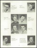 1955 Grand Ledge High School Yearbook Page 28 & 29