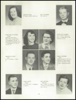 1955 Grand Ledge High School Yearbook Page 32 & 33