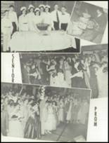 1955 Grand Ledge High School Yearbook Page 40 & 41