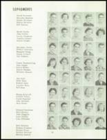 1955 Grand Ledge High School Yearbook Page 42 & 43