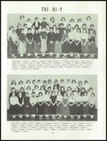 1955 Grand Ledge High School Yearbook Page 58 & 59