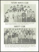 1955 Grand Ledge High School Yearbook Page 70 & 71